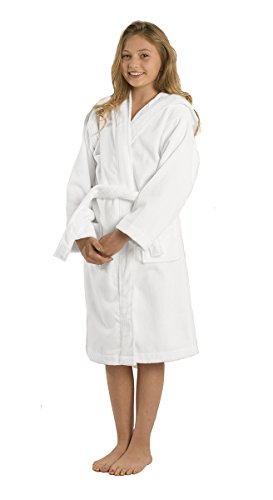 Brushed Terry Cloth Kids Hooded Bamboo Robes de783c7c5