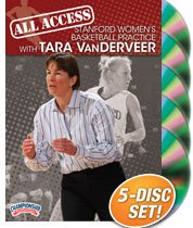 All Access Stanford Ladies Basketball Practice with Tara VanDerveer (DVD) by Championship Productions