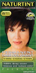 Naturtint Permanent Hair Color 4N Natural Chestnut -- 5.28 fl oz (Natural Dye Hair compare prices)