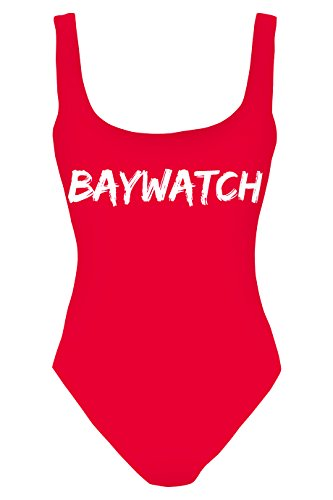 One Piece Women's Baywatch TV Show Swimsuit Swimming Costume Bikini  - One Standard Size