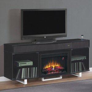 ClassicFlame Enterprise Electric Fireplace Entertainment Center in Black - 26MMS9616-NB157 photo B00FHICEJK.jpg