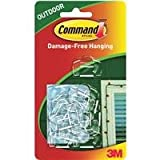 Command Outdoor Light Clips, 16-Clip, 4-Pack