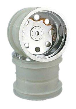 Traxxas 3673 Front Chrome Wheel, Rustler, 2-Piece
