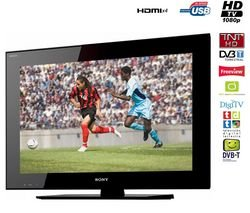 SONY Téléviseur LCD - 16/9 - 32 - 81cm - HDTV 1080p - TNT HD - USB mutlimédia -...