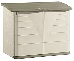 Rubbermaid Horizontal Storage Shed 32-cubic Ft from Rubbermaid