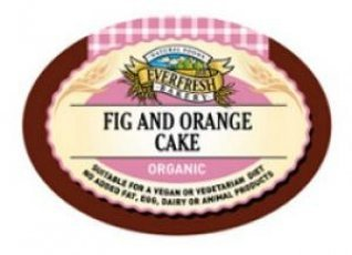 Everfresh Natural Foods Organic Fig & Orange Cake 400g x 1
