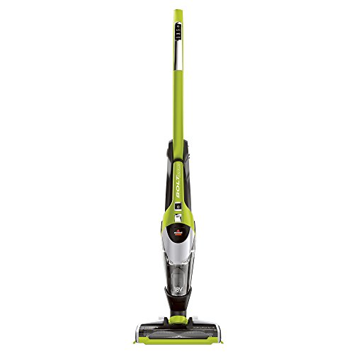 BISSELL BOLT ION Plus 2-in-1 Lightweight Cordless Vacuum with EdgeReach Technology, 18v, 13121 (Bissell Stick Vacuum Green compare prices)