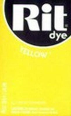 Rit Dye 32 g Yellow Powder (6-Pack)