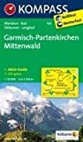 Garmisch-Partenkirchen - Mittenwald: Wanderkarte mit Aktiv Guide, Radrouten, Skitouren und Loipen. GPS-genau. 1:35000