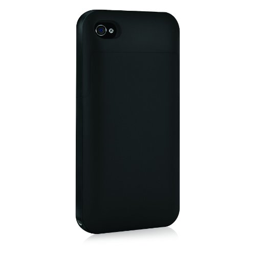 Mophie Juice Pack Plus Case and Rechargeable Battery (Black, Verizon and AT&T iPhone 4)