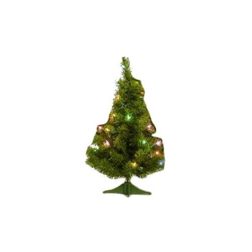 24 Canadian Pine Christmas Tree w/ 35 Multi color Mini Lights 58T