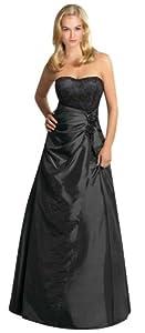 A-line Taffeta Floor Length Sweetheart Bridesmaid Dress