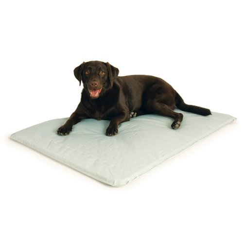 K&H Cool Bed Iii Cooling Dog Bed, Large, 32-Inches By 44-Inches, Gray