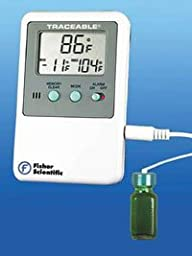 666423 Part# 666423 - Thermometer Lab Traceable Refrigerator/ Freezer Dgt LCD...