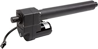"Warner Linear K2G05-12v-BR-18 B-Track K2 18"" Stroke Length Rugged Duty Actuator"