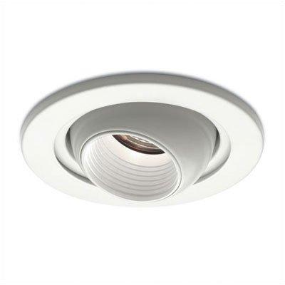 Bundle-15 Low Voltage Eyeball Recessed Lighting Trim (Set Of 3) Finish: White Trim/White Baffle