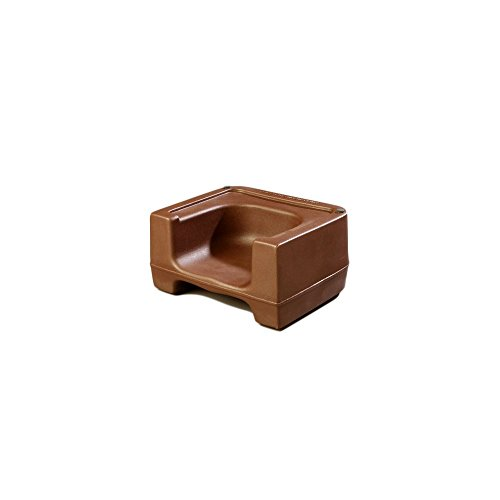 Carlisle 711001 Brown Booster Seat front-559939