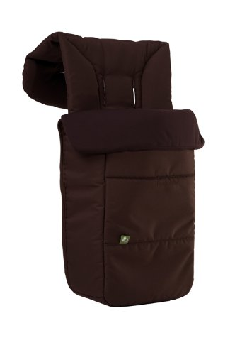 Bumbleride 2011 Footmuff and Liner Fits Flyer, Indie, Indie Twin and Flite, Walnut (Discontinued by Manufacturer)
