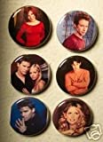 Set of 6 BRAND NEW Buffy The Vampire Slayer One Inch Magnets