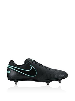 Nike Botas de fútbol Tiempo Genio II Leather Sg (Negro)