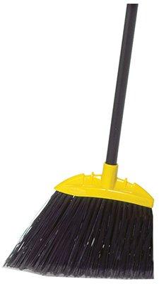 Rubbermaid Comm Prod 638906BLA Jumbo Smooth Sweep Angle Broom