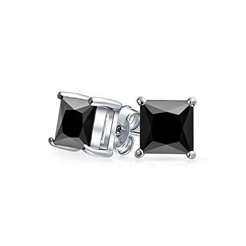 bling-jewelry-mens-925-sterling-silver-cz-basket-set-princess-cut-black-stud-earrings-7mm