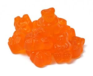 Albanese Orange Gummi Bears, 1.5 LB