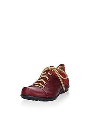 Think! Zapatos de cordones (Rojo Oscuro)