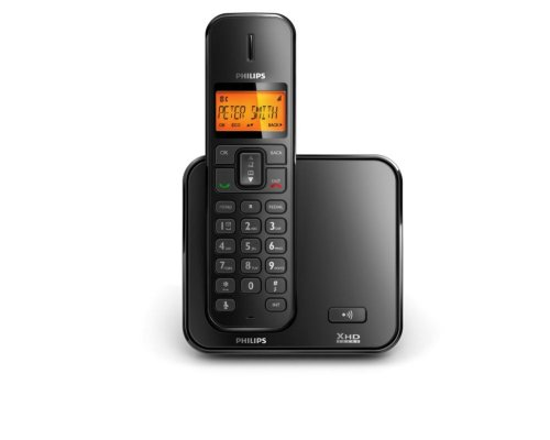 Philips SE170 Single DECT Cordless Phone (XHD Sound, Low Energy, Low Radiation ) image