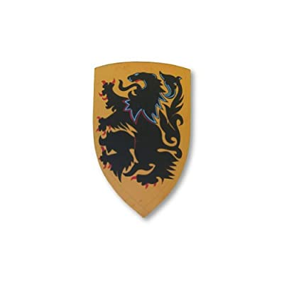 Armor Venue Crusader Lion Shield - Medieval Costumes - Yellow - One Size