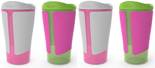 BPA-Free Grow with Me 10 oz. Big Kid Spoutless Cup, 4 Count, Girl - 1