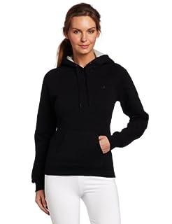 Champion Women's Eco Fleece Hoodie, Black, Small