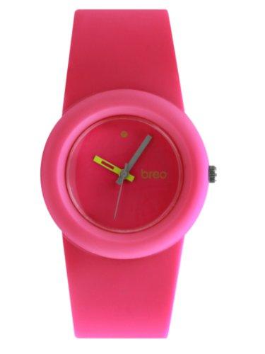 Breo Loop Ladies Rubber Watch Pink