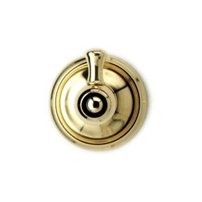 Simple Phylrich KGB Polished Gold Bathroom Accessories Single Robe Hook