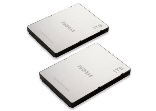 Verbatim iVDR-S 「SAFIA」対応 日立「Wooo」検証済 1TB HDD 2個セット 37099 Designed by ARMAN EMANI エコパッケージ