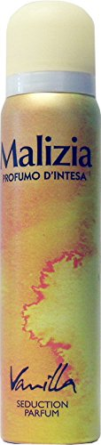 12 x MALIZIA Deo Donna Profumo D'Intesa Spray Vaniglia 100 Ml