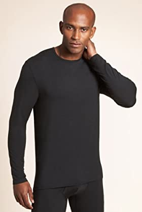 Autograph Modal Rich Crew Neck Thermal Vest With Silk