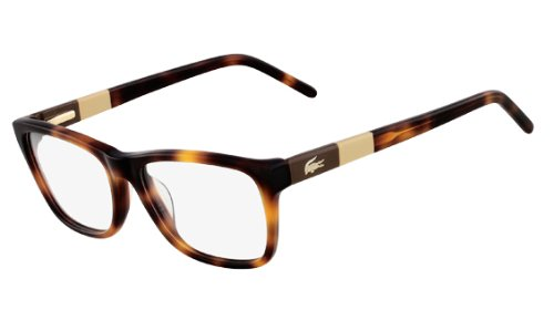 New Authentic LACOSTE RX Eyeglasses Havana Women Men 52mm L2651 214