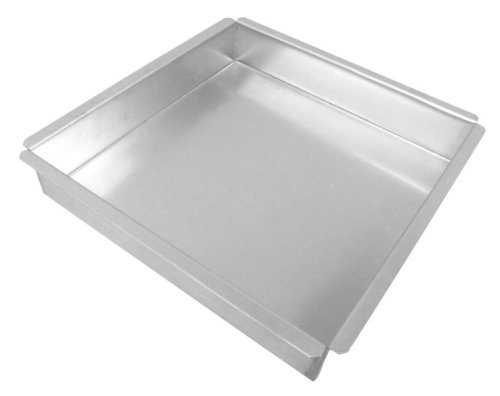 Allied Metal Spinning Corporation Allied Metal SQ13133 Heavy Weight Aluminum Square Baking/Pizza Pan 13 by 13 by 3-Inch