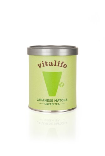 Vitalife Japanese Matcha Green Tea Powder 30g Beginner's Tin
