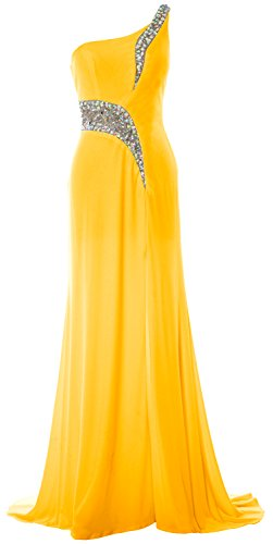MACloth -  Vestito  - Donna giallo 42