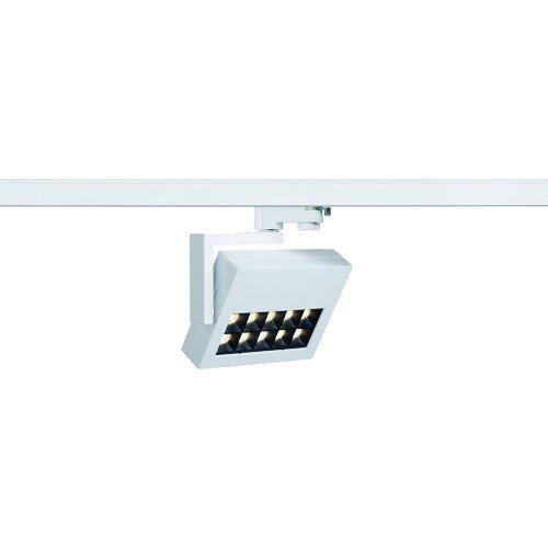 SLV LED 3-Phasen Strahler Profuno, 18W, 3000 K, 60 Grad, inklusiv Adapter, weiß 152551