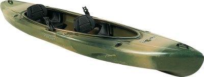 Old Town Canoes & Kayaks Twin Heron Camo Angler Recreational Fishing Kayak
