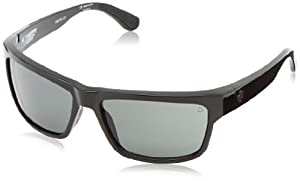 Spy Optics Frazier Wrap Sunglasses,Black,59 mm