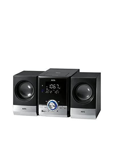 AEG Minicadena CD/MP3/Usb MC4461 Negro
