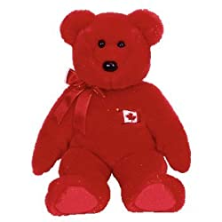 TY Beanie Buddy - PIERRE the Bear ( Canada Exclusive )