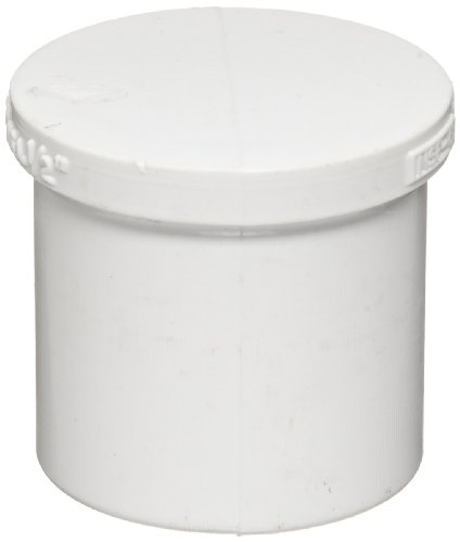 Spears 449 Series PVC Pipe Fitting, Plug, Schedule 40, 1/2