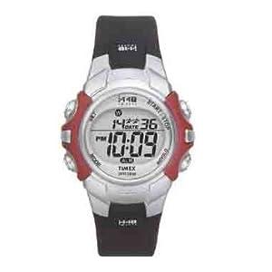 Timex 1440 Sports Full Size Digital Watch - Silver/Black
