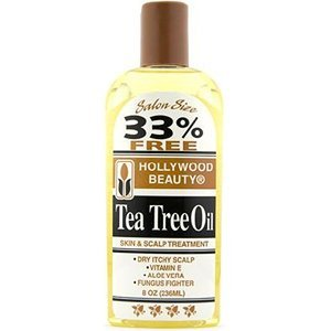 HOLLYWOOD BEAUTY Tea Tree Oil Skin & Scalp Treatment 8 oz by