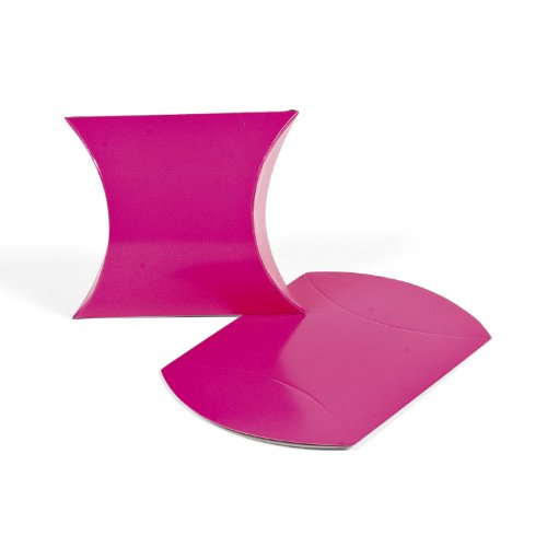 Hot Pink Pillow Boxes (1 dz)